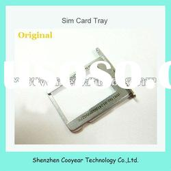 original new mobile phone sim card tray holder slot for iphone 4g paypal is accepted