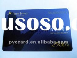 plastic gift card with full color