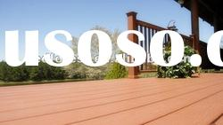 plastic wood composite decking material