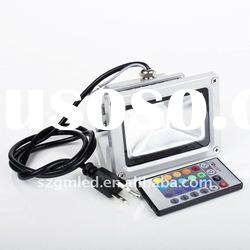 remote control 10w rgb led flood light