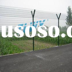 safety airport prison barbed wire fence with factory & ISO9001
