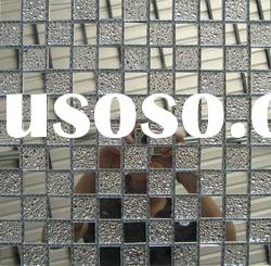 silver mirror crystal Glass mosaic Tile MU26--best for a place of entertainment decoration