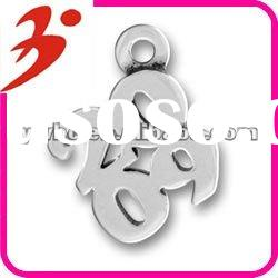 special alloy antisilver plated 2009 charm jewelry accessory(185418)