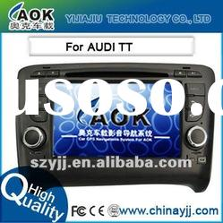 special car video for AUDI TT with dvd gps navigation system bluetooth