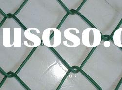 square wire mesh chain link fence