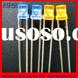 stable light emitting flat top led diode