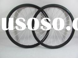 super light!!!700C bicycle wheel 38mm carbon clincher wheelset,1250g+/-30g
