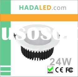 superbright dimmable led recessed lighting wholesaler 24W energy saving Household Lighting