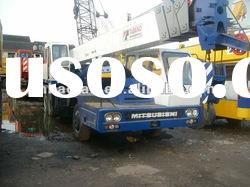 used tadano truck crane 25ton MITSUBISHI model for sale excellent