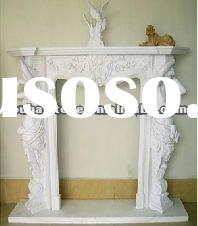 western style natural stone carved fireplace indoor stone fireplace