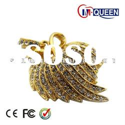 wholesale golden maple leaf jewelry usb flash memory stick