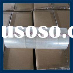 yellowish adhesive bopp carton sealing tape