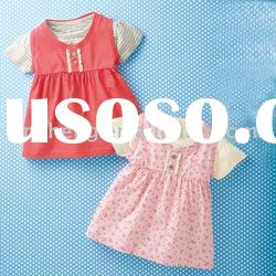 100%cotton baby girls wear,baby tops,baby garment