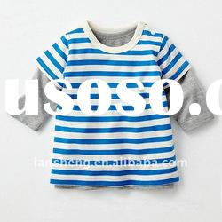 100%cotton lovely baby long sleeve knitted top