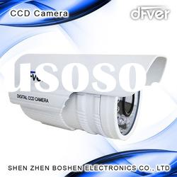 1/3-inch Sony Water-resistant CCTV Camera with 12V DC Power Supply and Auto White Balance