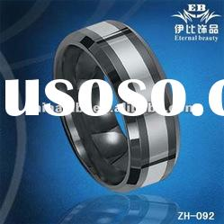 2010 Fashion Jewelry Fashion Rings Tungsten Rings Wedding Rings Tungsten Jewelry