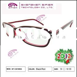2012 High End New Fashion Plastic Reading Glasses