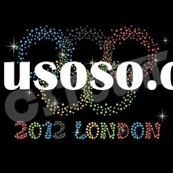 2012 London Olympic wholesale hot fix crystal rhinestones