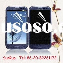 2012 most fashionable diamond screen protector for samsung galaxy s3 ( i9300)