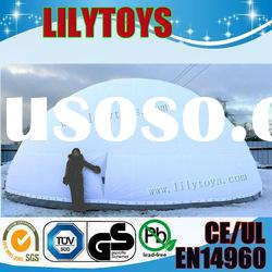 2012 new inflatable tent outdoor/inflatable snow dome of lilytoys