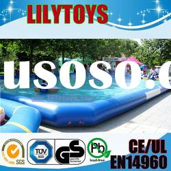 2012 pvc inflatable gaint water swimming pool/kids playing pool hot selling