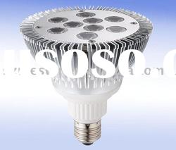 220V super bright E27/E26/GU10 led par30 spotlight