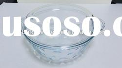 2.0L glass casserole with lid,high borosilicate/pyrex glass, heat resitant glass pot with lid