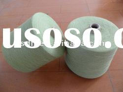 32Nm/2 50% wool 50% acrylic worsted merino wool/acrylic blended yarn with Mercerized