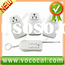 3 Wireless Remote Control Power Outlet