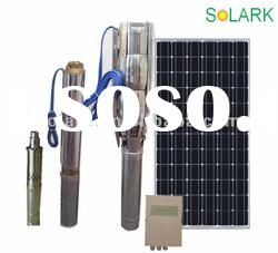 "4""DS46-1 DC solar water pump system/submersible pump/solar pump"