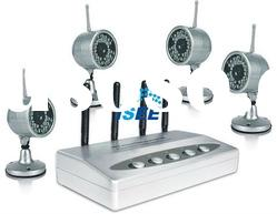 4 Wireless camera Kit with 15m Night Vision Distance