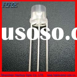 5mm flat top red and green bi-color led diode supplier