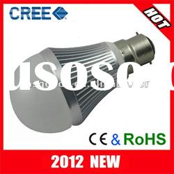 5w led bulb b22 base with CE & RoHS