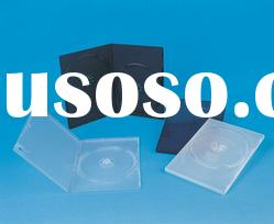 9MM BLACK/TRANSPARENT DVD CASE SINGLE/DOUBLE(YD-025-A)