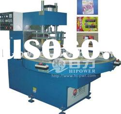 Automatic Turntable High Frequency Clamshell packaging Machine