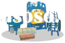 Block/brick making machine(motor mechanical driver)