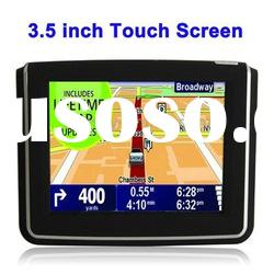 Built-in speaker ,3.5 inch TFT Touch-screen Car GPS Navigator
