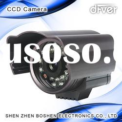 CCTV Waterproof Camera with high Resolution 1/3-inch Sony Color CCD Sensor and <400mA Current