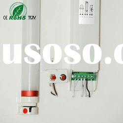 CE/RoHS passed 2ft emergency Senzhen 9W LED Ping Tube with rechargeable battery outside