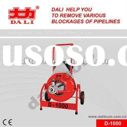 CE Solid shaft Electric Water tank cleaning equipment