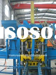 Color paving brick machine/brick making machine QTY3-20
