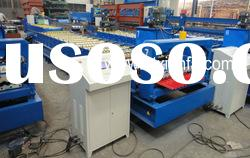 Color steel Corrugated roof panel roll forming machine