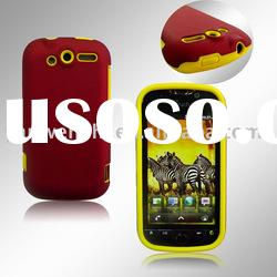 Combo Cell Phone Case for HTC Mytouch HD(the best combination of silicone case and crystal cover)