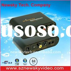 Component to Composite / s-video vga rca to hdmi converter game box --NS7611