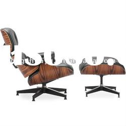 Contemporary designer furniture Eames Lounge chair and ottoman