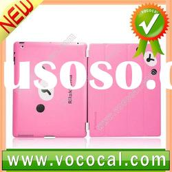 Cute Leather Cover Hard Case for iPad 2