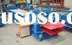 Double-layer Corrugated Profile Steel Tile Roll Forming Machine XF1100/1016
