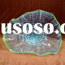 Elegant Decorative Glass Fruit Bowl
