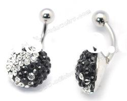 Fashion 316L belly rings navel ring body jewelry