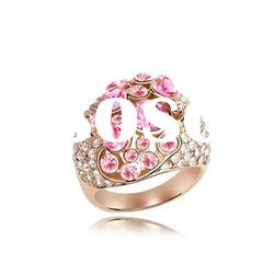 Fashion Crystal Jewelry Rings For Women 4552-4555